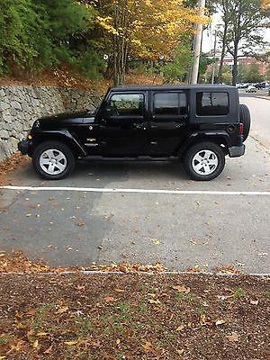 Jeep : Wrangler Unlimited Sahara Sport Utility 4-Door 2007 jeep wrangler unlimited sahara black manual