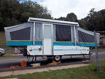 1993 Coleman Destiny Rio Grande Pop Up Camper
