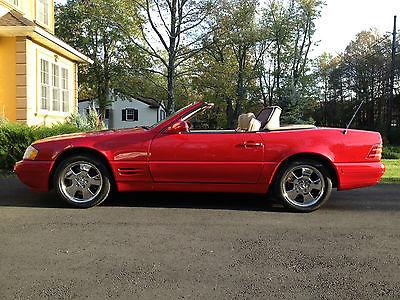 Mercedes-Benz : SL-Class Sl500, Sl 500, 129 1999 mercedes sl 500 sl 500 129 convertible
