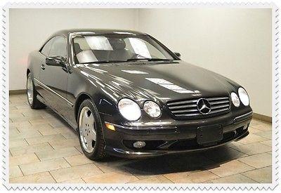 Mercedes-Benz : CL-Class CL600 600 2002 mercedes benz cl 600 sport v 12 only 9 k warranty