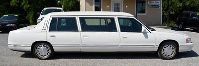 Cadillac : DeVille Hearse 1998 funeral family car hearse limousine presidential package six door 75 k