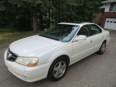 Acura : TL Base Sedan 4-Door PEARL WHITE 2003 ACURA TL 4-DOOR SEDAN