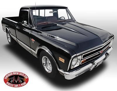 Chevrolet : C-10 Pickup 1968 chevrolet c 10 pickup 396 4 speed black restored