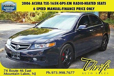 Acura : TSX Navi 2006 acura tsx 165 k gps xm radio heated seats 6 speed manual finance price only