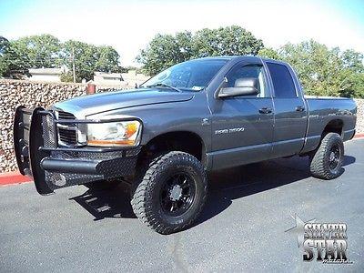 Dodge : Ram 3500 SLT SRW 4WD Cummins Turbo Diesel 06 ram 3500 srw slt 4 wd cummins quadcab shortbed loaded xnice tx diesel