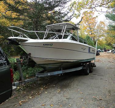 23ft.1993 Proline Walk Around Offshore Boat w/ trailer
