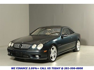 Mercedes-Benz : CL-Class CL55 AMG CLEAN CARFAX SERVICED 75K LOW MILES CL55 AMG NAV ABC SPORT PKG TAN LEATHER XENON