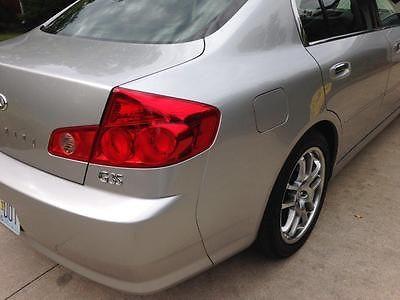 Infiniti : G35 4-dr sedan Low mileage 2005 4-dr sedan, 6-spd manual, by original owner
