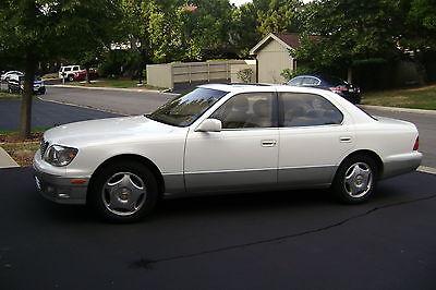 Lexus : LS LS 2000 lexus ls 400 base sedan 4 door 4.0 l