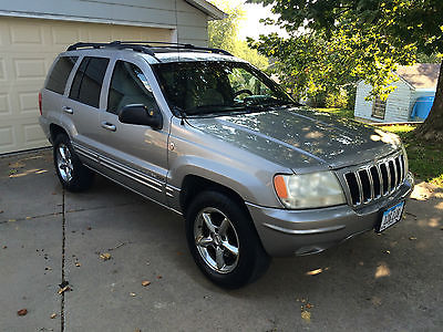 Jeep : Grand Cherokee Limited Sport Utility 4-Door Jeep Grand Cherokee Limited Sport Utility V8 4.7 Automatic A/C All Wheel Drive