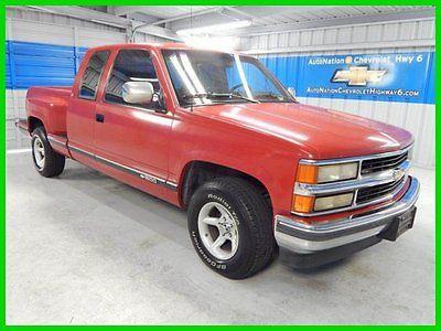 Chevrolet : C/K Pickup 1500 C/K 1500 C1500 5.7L V8 Running Great Chevy C1500 Miles '94 Red Automatic 5.7L V8  Pick-up c/k Power Windows Locks