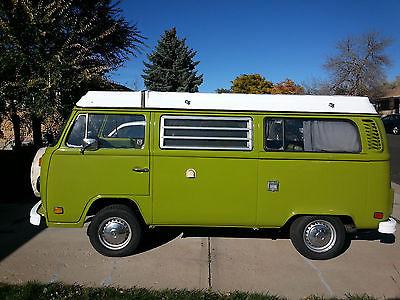 Volkswagen : Bus/Vanagon Westfalia Partially Restored Green 1978 VW Transporter / Westfalia Seeks Loving Owner