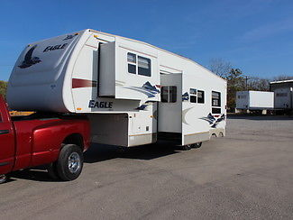 FOR SALE 2006 JAYCO EAGLE 5TH WHEEL BUNKHOUSE CAMPER TRAILER WITH 2 SLIDES