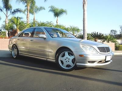 Mercedes-Benz : S-Class S-Class Sedan 2001 mercedes benz s 500 only 34572 miles l k