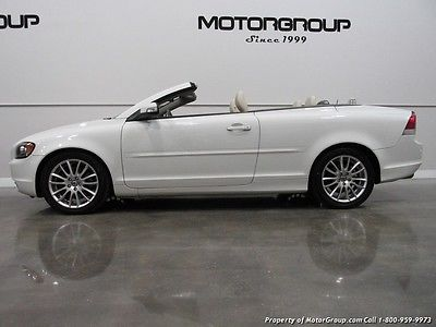 Volvo : C70 T5 2009 volvo c 70 t 5 white cream leather t 5 convertible buy 194 month fl oac