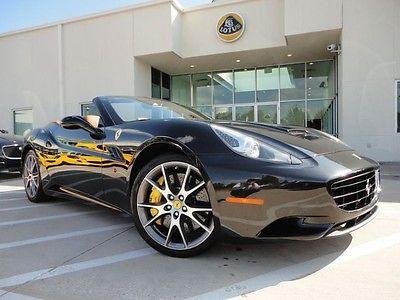 Ferrari : California Base Convertible 2-Door Daytona Seats 20 inch Wheels Shields Auto Dimming Mirror Dual Power Seats