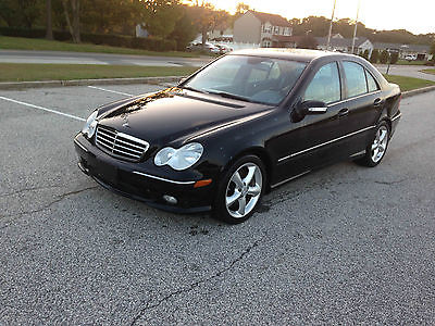 Mercedes-Benz : C-Class Sport Sedan 4-Door 2006 mercedes benz c 230 sport sedan 4 door 2.5 l ez fixer