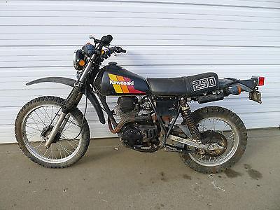 Kawasaki : Other Kawasaki Enduro 1982 kl250 vintage mx retro classic AHRMA  xl dt rt cafe racer