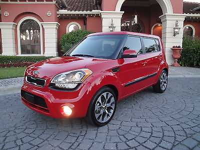 Kia : Soul Exclaim Hatchback 4-Door 2012 kia soul exclamation w 10 k miles camera sunroof dealer serviced trade