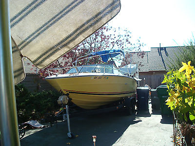 Searay Boat 26ft with trailer