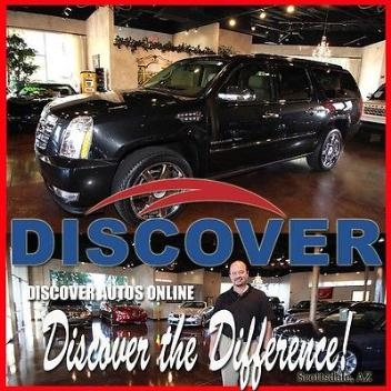 Cadillac : Escalade ESV Sport Utility 4D AWD 2011 cadillac escalade esv awd premium collection sport utility 4 door new tires