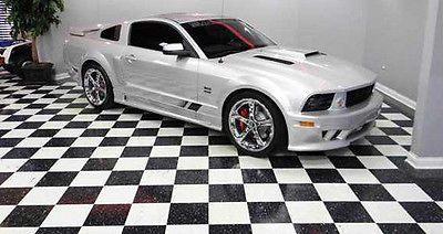 Ford : Mustang Saleen custom leather/suade seats 2008 saleen mustang with only 37 000 miles free shipping with buy now in usa