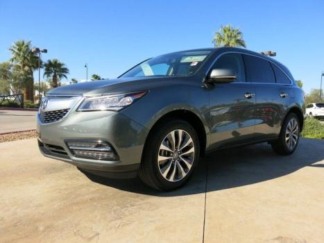 Acura : MDX TECHNOLOGY TECHNOLOGY SUV 3.7L 1 OWNER NAVIGATION BACK-UP-CAMERA BLUETOOTH 3rd ROW SEATS