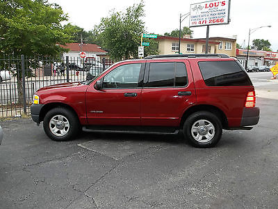 Ford : Explorer XLS Red 4X4 Ford  Explore