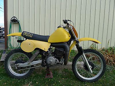 Suzuki : RM 1979 suzuki rm 400 rm 400 360 250 ahrma vintage mx 76 77 78 80 motor pipe seat