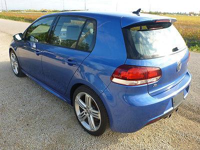 Volkswagen : Golf R RARE 2012 VW Volkswagen Golf R 4Motion AWD Hot Hatch