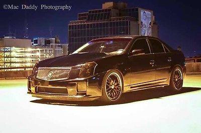 Cadillac : CTS V Sedan 4-Door 2004 cts v 440 rwhp heads cam 9 gforce rear specter werks