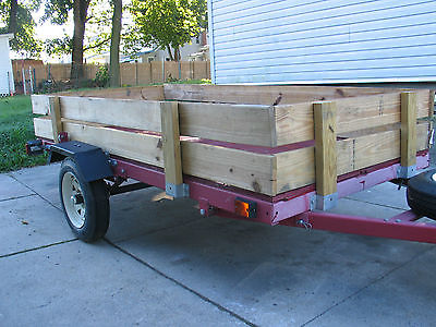 4x8ft trailer in excellent condition/ has a pennsylvania title/ it is 1yr old