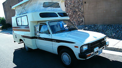 1982 toyota chinook motorhome like new