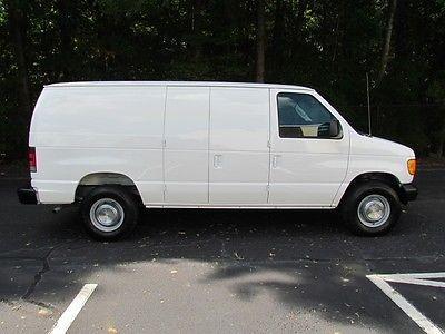 Ford : E-Series Van cargo  2004 ford econoline e 250 cargo van