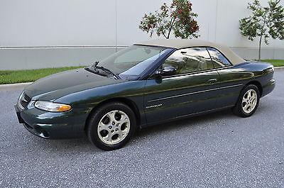 Chrysler : Sebring JXI Convertible 1999 2000 01 02 03 04 chrysler sebring jxi convertible only 23 k miles