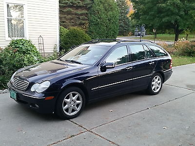 Mercedes-Benz : C-Class C240 2004 mercedes benz c 240 forematic wagon runs well looks great