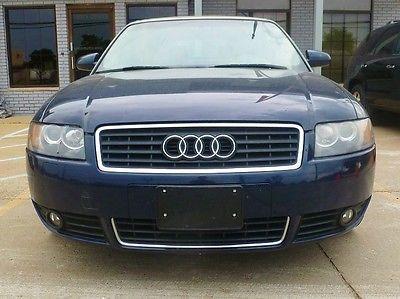 Audi : A4 1.8T B6 2003 audi a 4 1.8 t b 6 cabriolet convertible