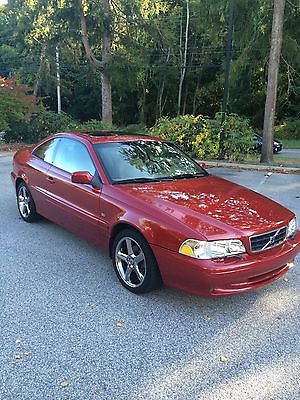Volvo : C70 Base Coupe 2-Door 2001 volvo c 70 ht 5 speed coupe rare one of a kind