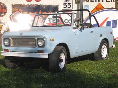 International Harvester : Scout 800A LQQK! 4X4 4WD 1969 International Harvester Scout Runs GREAT NO Rust 2 TOPS