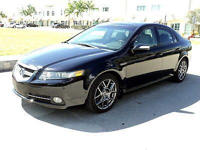 Acura : TL TYPE-S 280HP  2007 tl type s 3.5 l 280 hp navigation backup cam b tooth f 1 paddle shift all