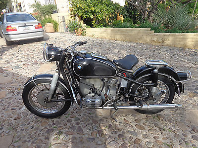 BMW : R-Series BMW R-59 1964 Vintage german motorcycle