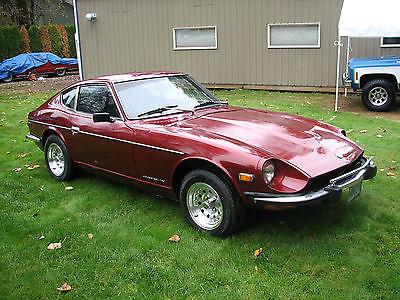 Datsun : Z-Series 4-speed, original engine & transmission low miles 1972 datsun 240 z 4 speed 95 k original miles numbers matching drivetrain nice