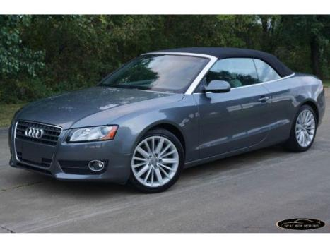 Audi : A5 2.0T quattro 2.0 t quattro convertible 2 stage unlocking remote abs 4 wheel brake drying