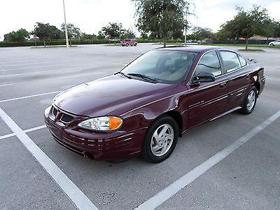 Pontiac : Grand Am SE 2000 pontiac grand am se sedan 40 k miles florida car 1 owner no accidents