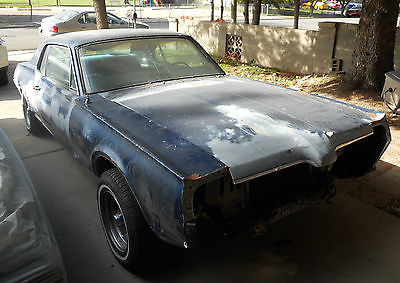 Mercury : Cougar Barn Find 1967 mercury cougar base 302 mustang 1968 coupe muscle xr 7 v 8 torino fairlane