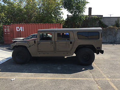 Hummer : H1 Wagon AM GM 2000 Hummer H1 Wagon with upgrades AS IS