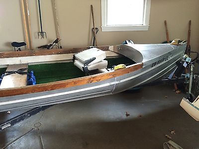 14' Foot Stainless Steel Fishing Boat