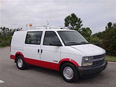 Chevrolet : Astro Astro Cargo Van 1999 chevrolet astro cargo work van 4.3 l v 6 automatic comcast fleet truck safari
