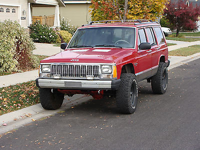 Jeep : Cherokee Laredo 1992 jeep cherokee laredo xj 4.0 high output ho on 31 s with new everything