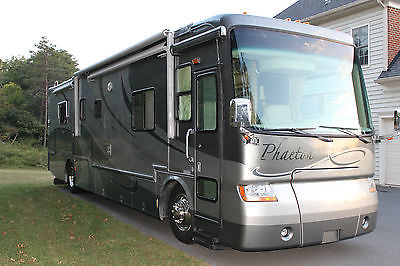 Tiffin Phaeton 41-ft Class A Motorhome, 350 CAT Diesel, 4 Slide-outs BIN Extras!